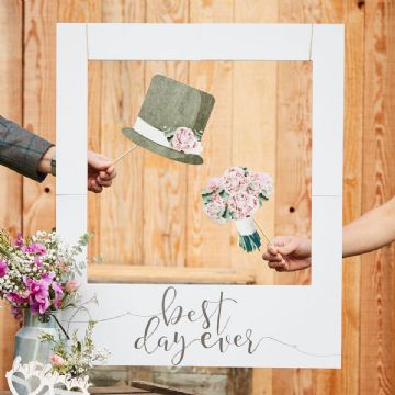 Giant Polaroid Photo Frame Wedding Prop